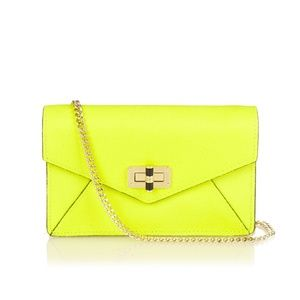 Diane von Furstenberg Envelope Chain Crossbody Bag